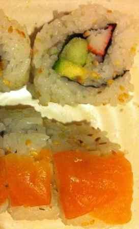 Oishi Sushi California & Salmon Rolls