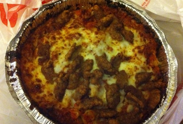 Pizza Hut Sausage Italiano Pasta