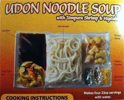 Box of Tiger Thai Udon Noodles