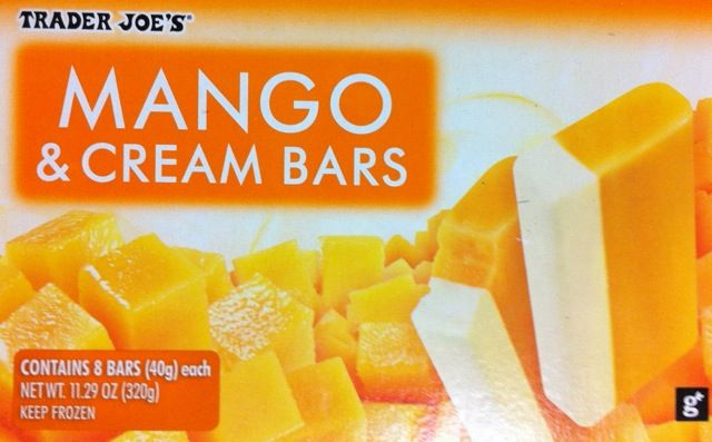 Box of Trader Joe's Mango Cream Bars