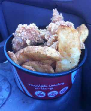 KFC GoCup inside Cup Holder