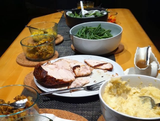 Turkey dinner for the holidays