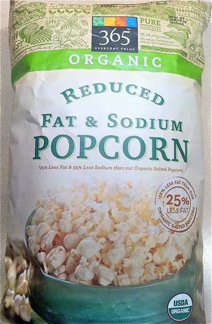 Bag of 365 Everyday Value Popcorn from Whole Foods