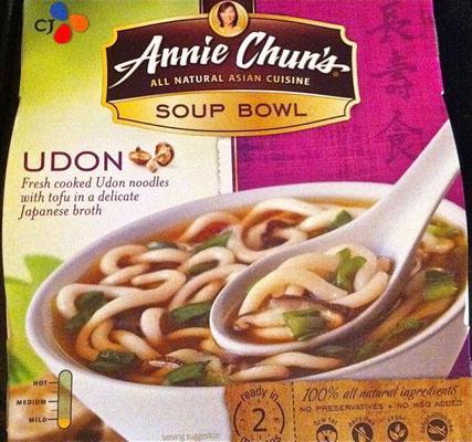 Annie Chun's Udon Noodle Soup Box
