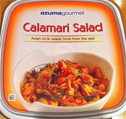 REVIEW – Azumagourmet: Calamari Salad from Costco | GrubPug