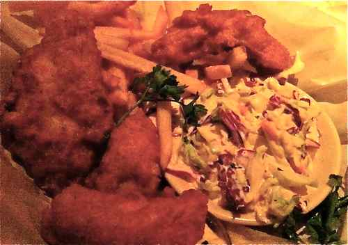 Fish N Chips from Cheesecake Factory