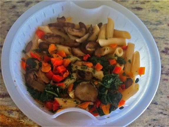 Healthy Choice Portabella Spinach Parmesan Pasta Bowl