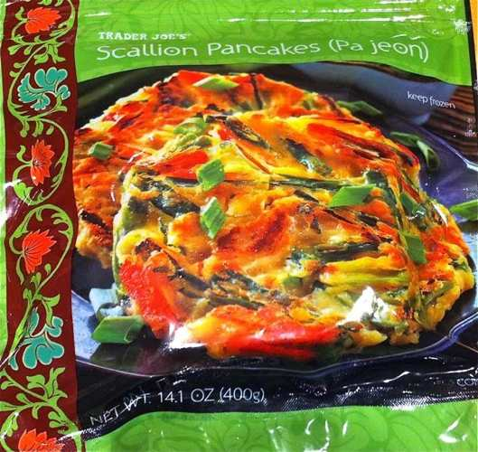 Bag of Trader Joe's Scallion Pancakes (Pa Jeon)