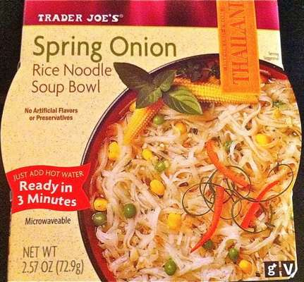 Trader Joe's Spring Onion Rice Noodle Soup