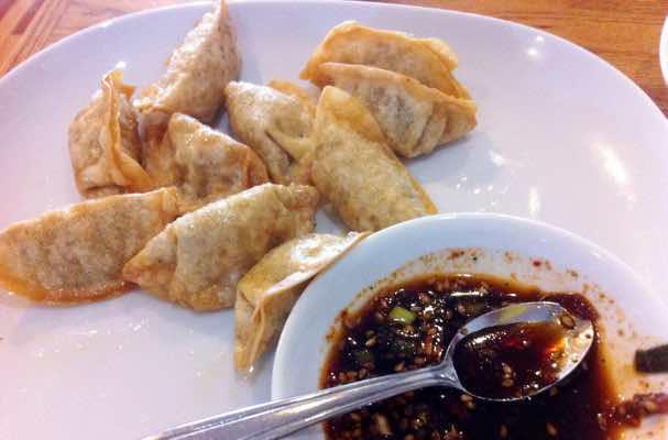 Dumplings from Asiana Restaurant, West Chester, OH