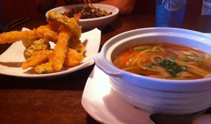 Tempura Udon from Dao Restaurant, Mason, OH