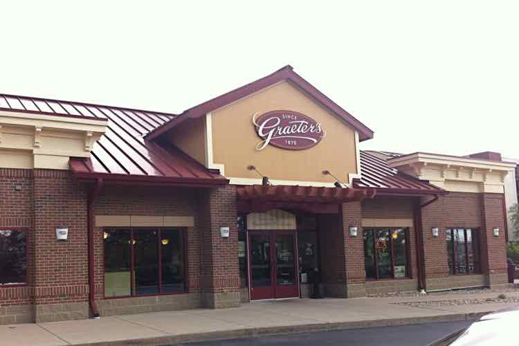 Storefront of Graeter's Ice Cream shop