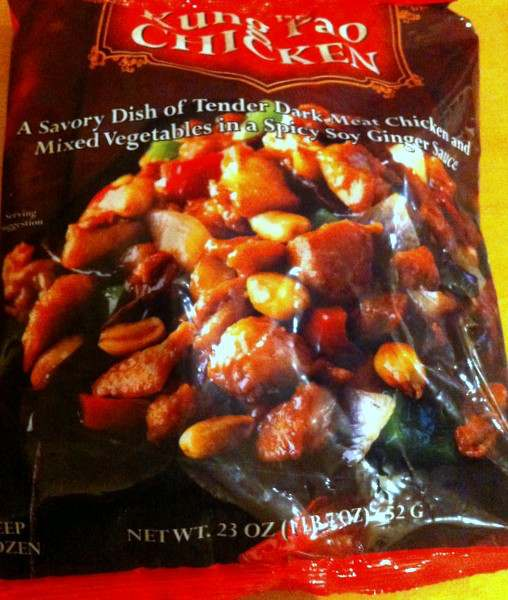 Bag of Trader Ming's Kung Pao Chicken from Trader Joe's