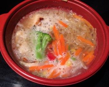 Cooked Ajinomoto Tokyo Style Chicken Shoyu Ramen