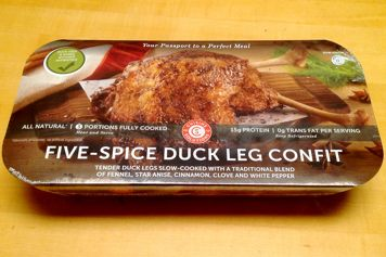 Box of Five-Spice Duck Leg Confit from Costco