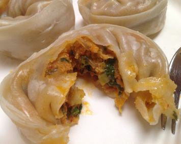Silk Road Kimchi & Pork Dumplings from Costco